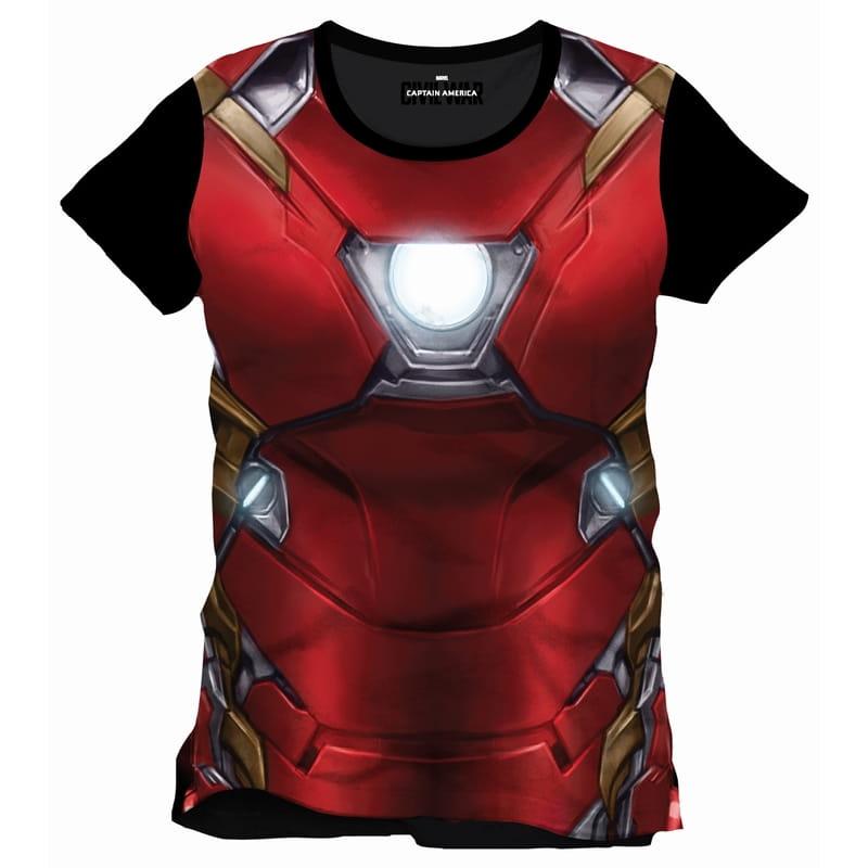 64f7617640c65b Koszulka Iron Man - zbroja Civil War - SuperHeroes.com.pl