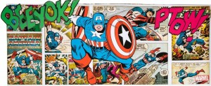 Obraz Captain America - canvas Marvel