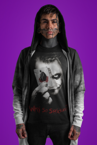 Koszulka DC Comics Joker - Why so Serious?
