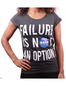 Koszulka damska NASA - Failure is not an option
