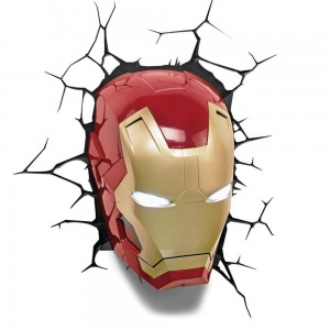 Lampka Marvel Iron Man 3D