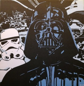 Obraz Star Wars - canvas Darth Vader