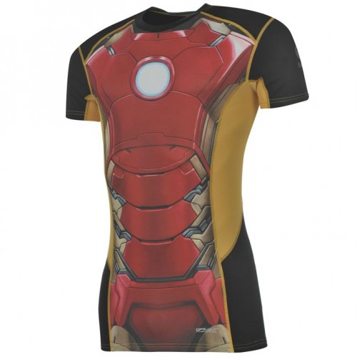 135b9b8ce08f69 Koszulka kompresyjna Iron Man - SuperHeroes.com.pl