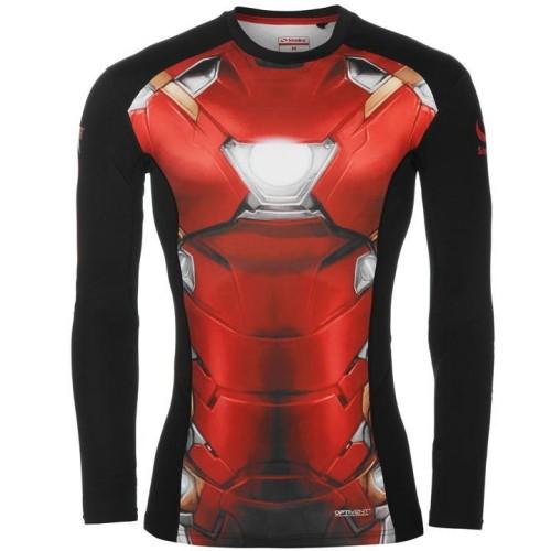 19fd48fbe12294 Koszulka kompresyjna Iron Man Civil War z długim rękawem ...